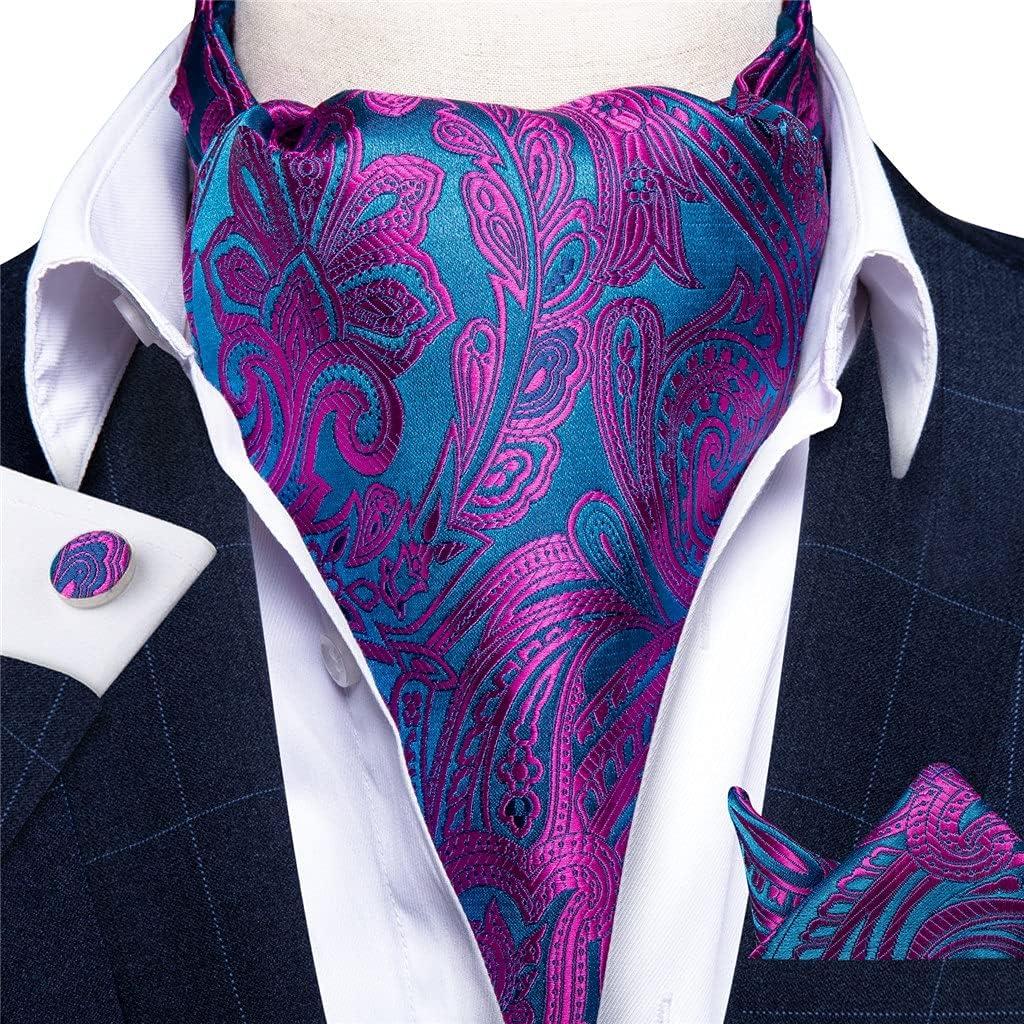 UXZDX Classic Purple Cravat Ties Self British Style Gentleman Polyester Silk Neck Tie Wedding Formal Cravat (Color : Purple, Size : One Size)