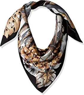 Women's Queen of The Jungle Printed Silk Square