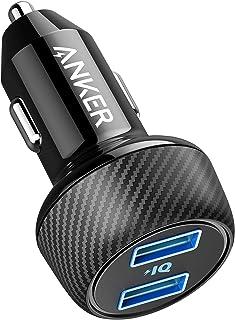 Anker PowerDrive 2 Elite Compacte 24W autolader Dual Port Car Charger met PowerIQ technologie voor Apple, Samsung, andere ...
