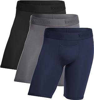 Men's Underwear, Boxer Briefs, Second Skin Fabric with 8