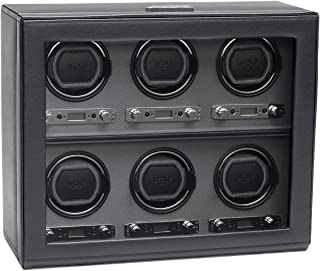 WOLF 456802 Viceroy Six Watch Winder with Cover