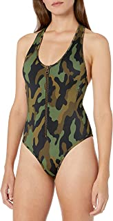 camouflage one piece swimsuit