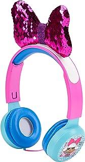 L.O.L. Surprise! Kids Safe Over The Ear Headphones HP2-13136 | Kids Headphones, Volume Limiter for Developing Ears, 3.5MM ...