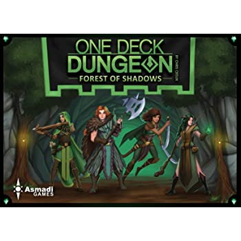 La Foresta delle Ombre Bonus Pack ITALIANO One Deck Dungeon