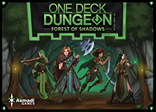 Asmadi Games One Deck Dungeon: Forest of Shadows Board Games