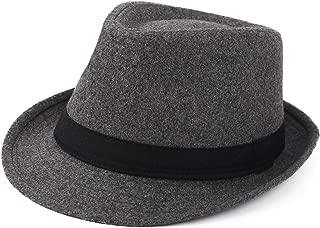 Unisex Classic Trilby Fedora Hat