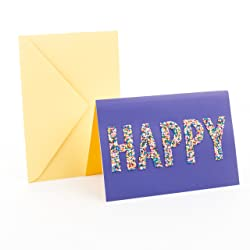 Hallmark Signature Birthday Card (Happy Sprinkles)