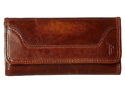 Frye Melissa Wallet (Cognac Antique Pull Up) Wallet Handbags