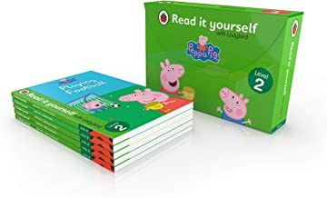 PEPPA PIG READ IT YOURSELF TUCK BOX (LEVEL 2): 5 PEPPA RIY BOOKS IN TUCK BOX