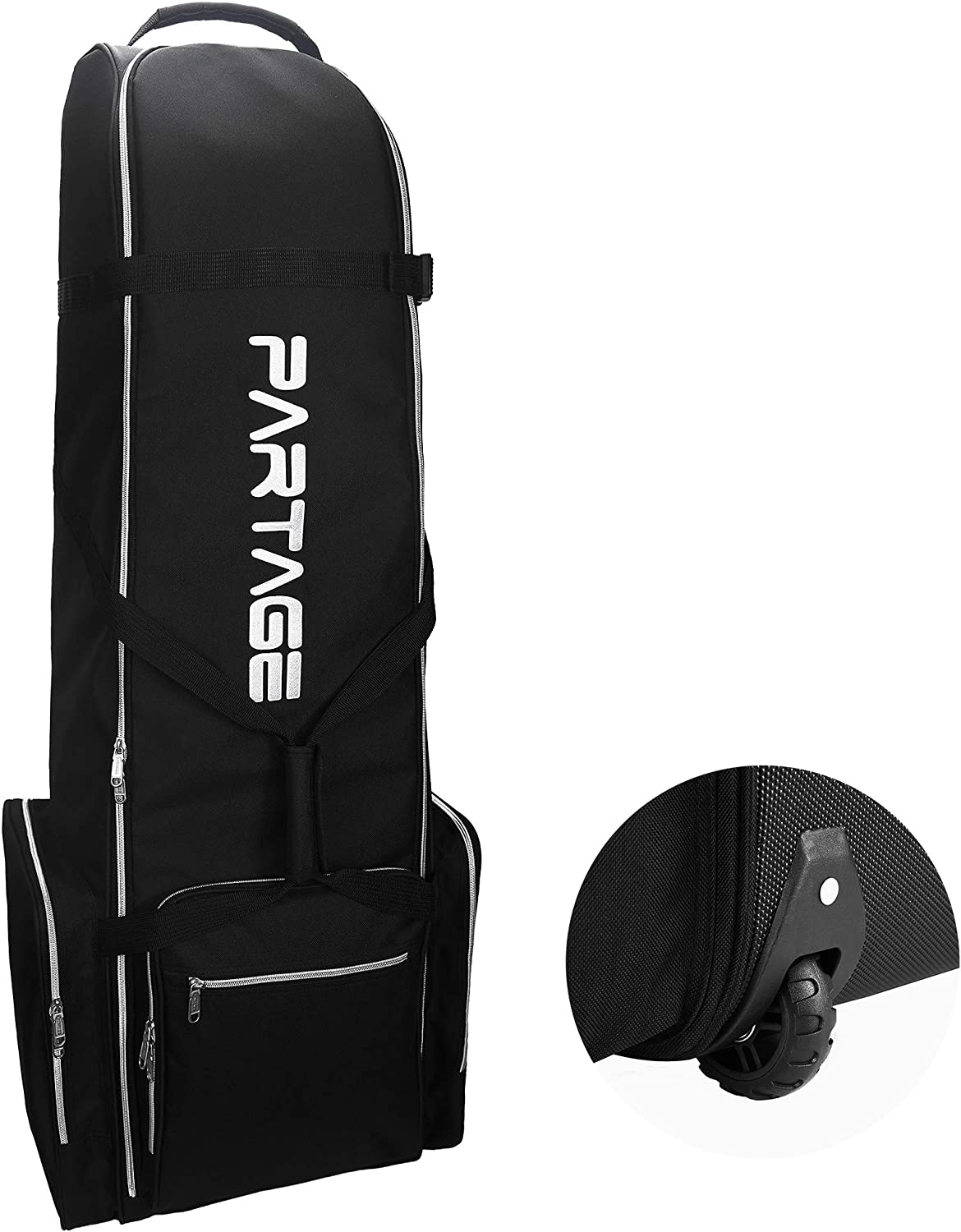 Partage wheels golf travel bag for airlines