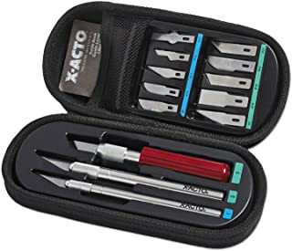 X-ACTO Compression Basic Knife Set, Great for Arts and Crafts, including Pumpkin Carving