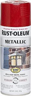 Rust-Oleum 7256830 Stops Rust PAINT, 11 oz, Apple Red
