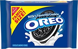 OREO Chocolate Sandwich Cookies, Family Size, 19.1 OZ