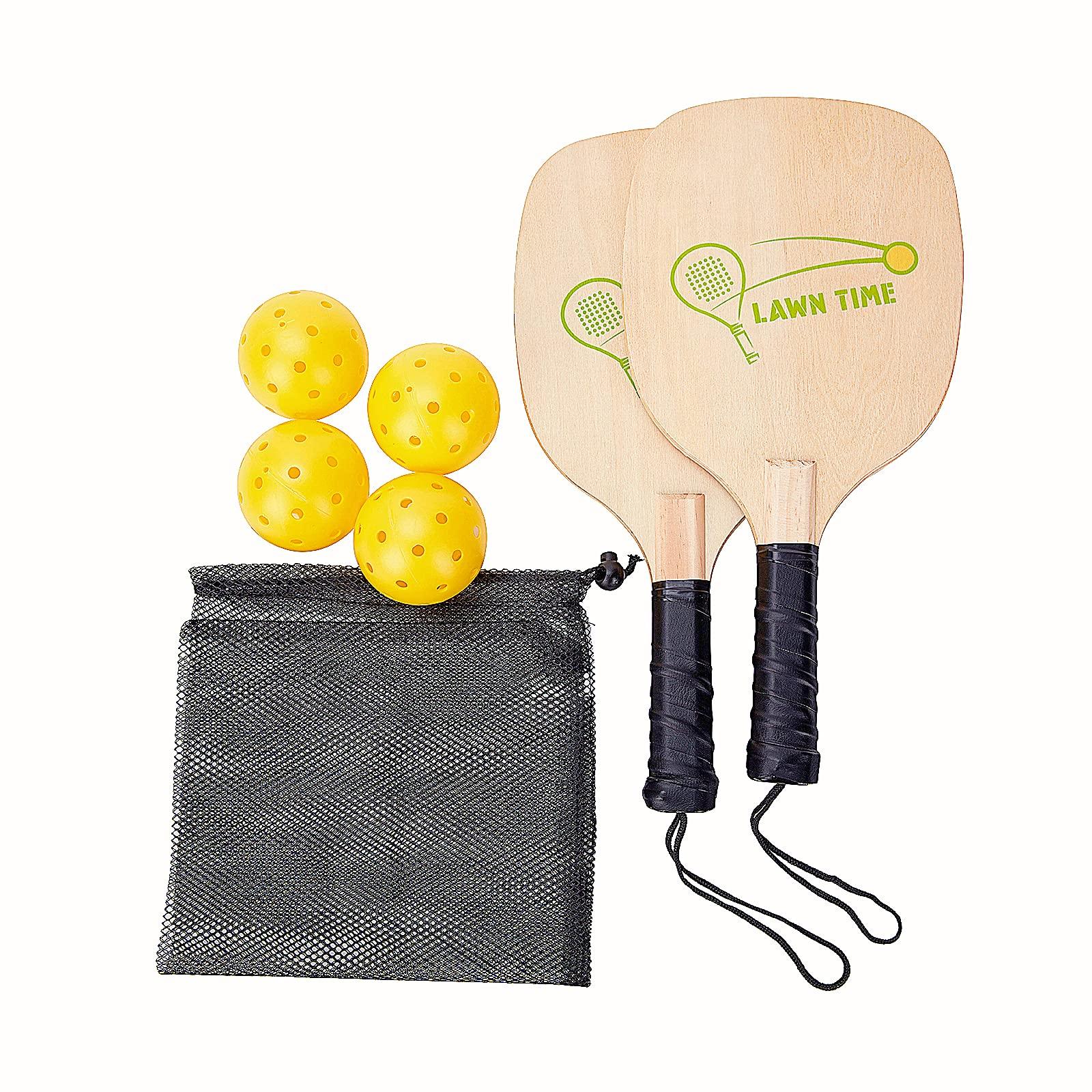 pickle ball Paddle Set Lightweight Texture Surface Woo -3GDJ