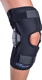 DonJoy Deluxe Hinged Knee Brace, Drytex Wrap Around, Open Popliteal, X-Large