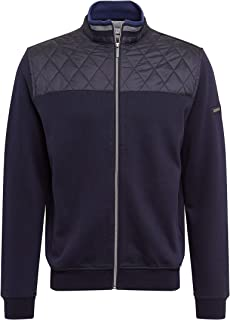 BUGATTI Sweatshirt Jacke Maglia di Tuta Uomo