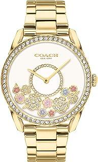 COACH PRESTON WOMEN's WHITE DIAL WATCH - 14503777