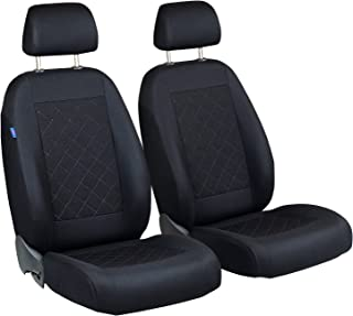 Sitzbezüge grau vorne ELE BMW X1