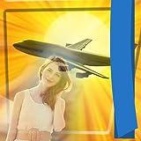 Telai di foto dell'aeroplano