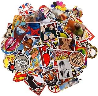 Sunny 200pcs Graffiti Sticker, Car Styling, Skateboard Fridge Vinyl Decals, Luggage Home Decor, Laptop Toy Waterproof Random Sticker Pack