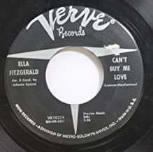 Ella Fitzgerald 45 RPM Can''t buy me love / Hello, Dolly!