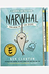 Narwhal and Jelly Box Set (Books 1, 2, 3, AND Poster) (A Narwhal and Jelly Book) Paperback