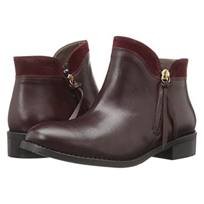 Bella-Vita Dot-Italy (Bordeaux Italian Leather/Suede) Women