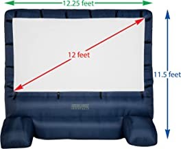 Gemmy 39127-32 Deluxe Airblown Movie Screen Inflatable with Storage Bag, 144