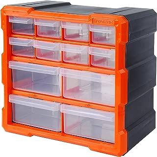 Tactix 320630 12 Drawer Cabinet, Storage & Hardware Parts Organizer