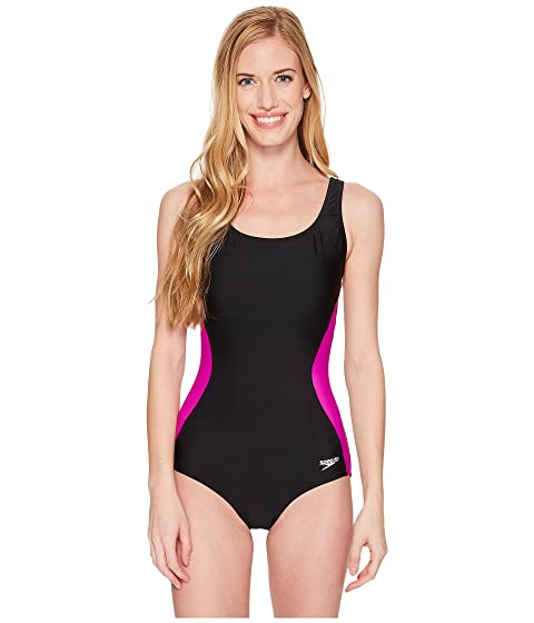 Discount Recommend Speedo Speedo® Illusion Splice Ultraback One-Piece Very Fuchsia Discount Explore Release Dates Cheap Online w0p1TsF1