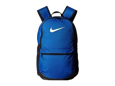 Nike Brasilia Medium Backpack (Game Royal/Black/White) Backpack Bags