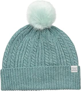 Joules Women's Bobble Hat Knitted Beanie