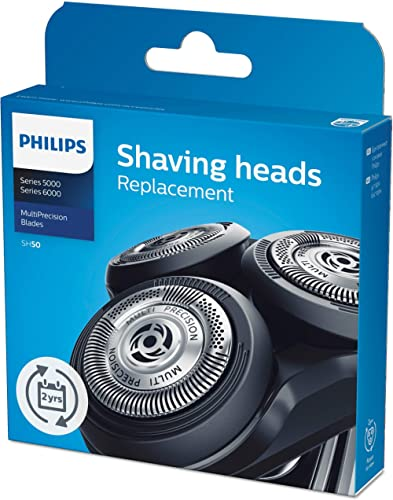 Philips SH50/50 Replacement Blades for Series 5000 Electric Shavers