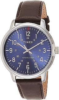 تيميكس ساعة عملية كاجوال رجال انالوج بعقارب جلد - TW2R85400