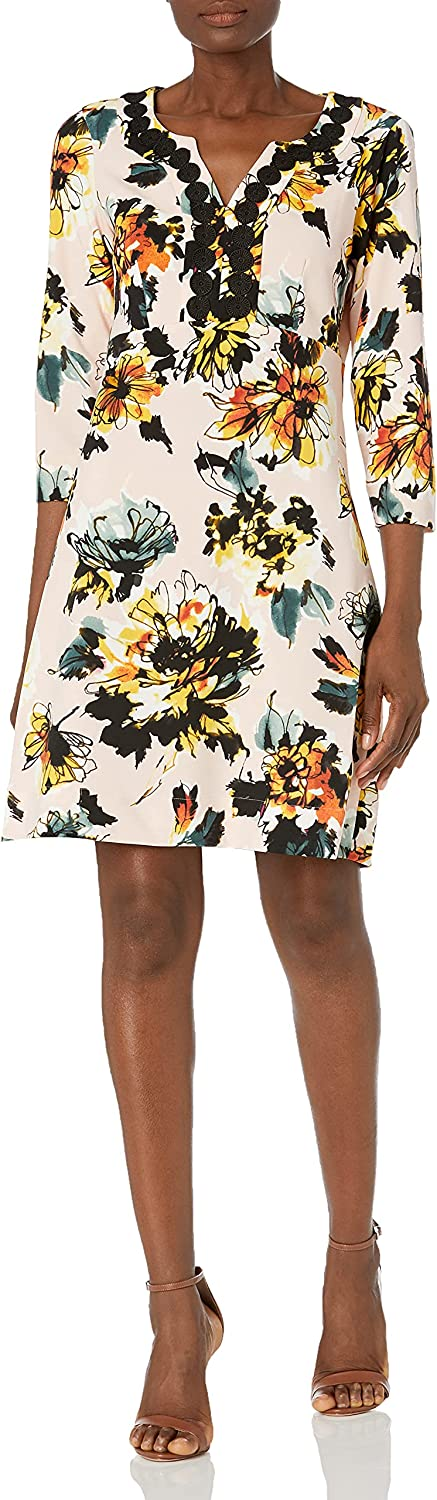 Pappagallo Women's Omaha Mall The Large special price !! Brittany Dress