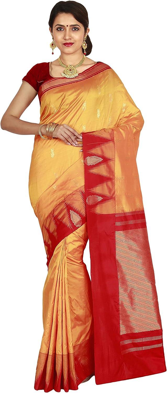Indian Silks Kanjivaram Handloom Pure Silk Saree(IS385)