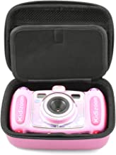 CASEMATIX Pink Kids Camera Case Compatible with VTech Kidizoom Camera PIX , Duo Selfie , Twist Connect , Includes Case Only
