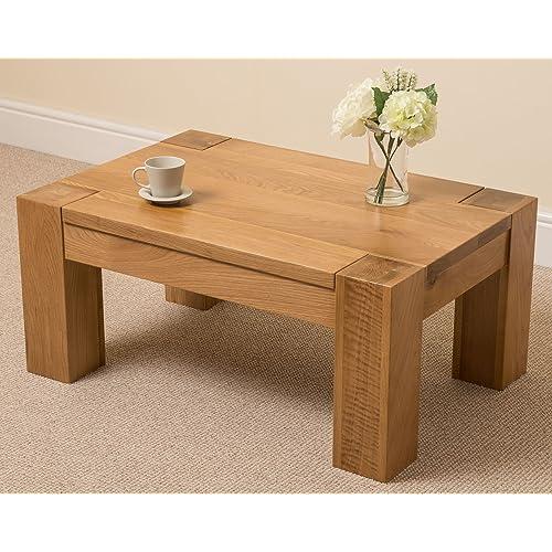 Solid Wood Coffee Table Amazon Co Uk