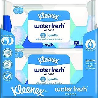Kleenex Water Fresh Tissues Gentle - 480 tissues - 12 x 40 stuks - Voordeelverpakking
