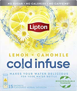 Lipton Cold Infuse Lemon + Chamomile, 90 zakjes - Multipack