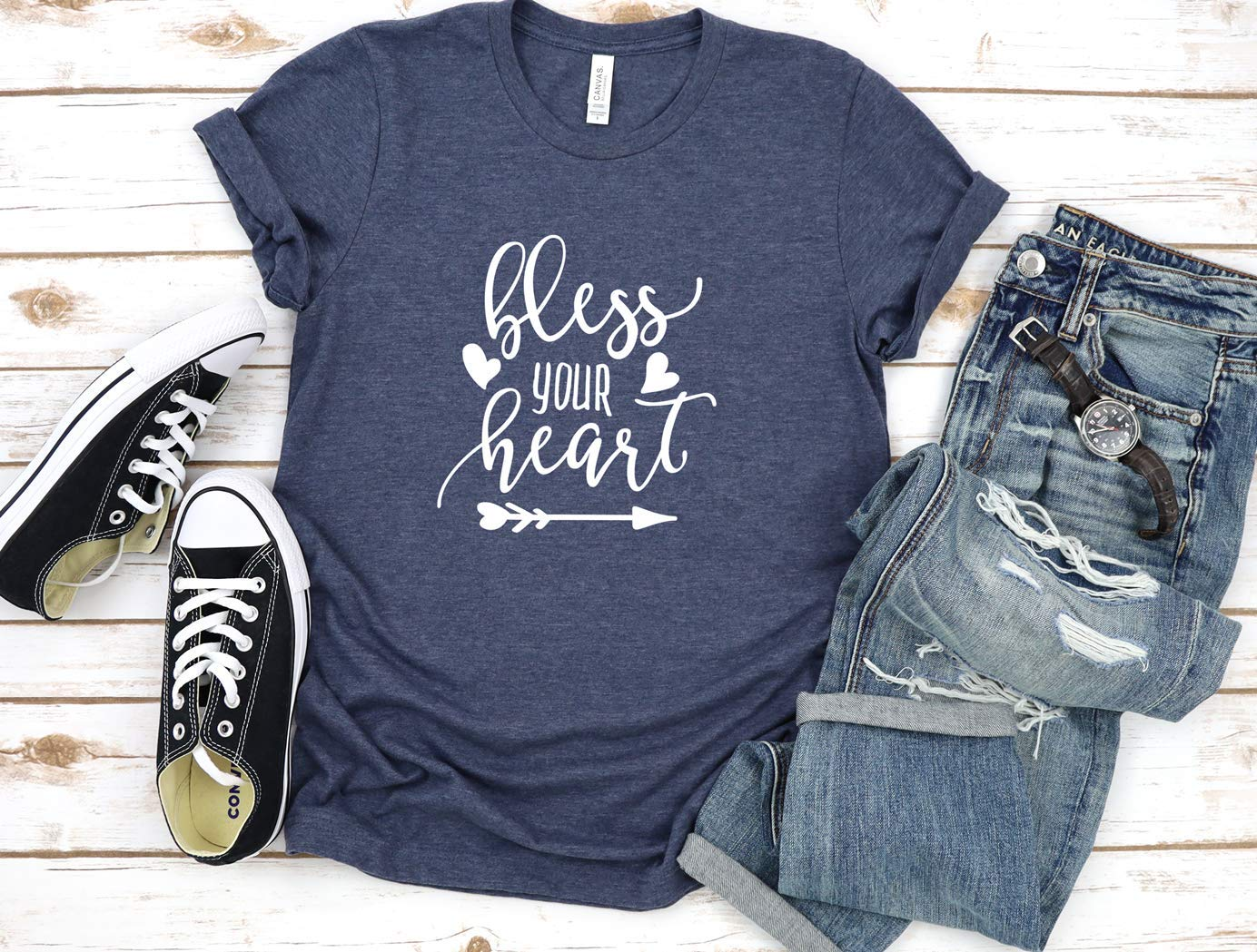 Bless Your Heart Tee Ranking TOP14 Genuine Free Shipping Graphic T-Shirt