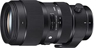 Sigma 50-100 mm f/1.8 DC HSM Art Lens for Canon DSLR Cameras (Black)