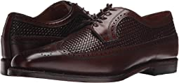 Dark Chili Weave/Dark Chili Burnished Calf