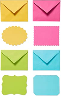 American Greetings Single Panel Blank Cards with Envelopes, Bright (40-Count)
