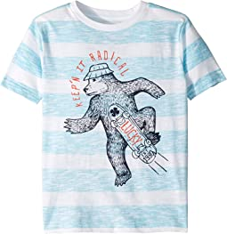 Keep'N It Radical Stripe T-Shirt (Little Kids/Big Kids)
