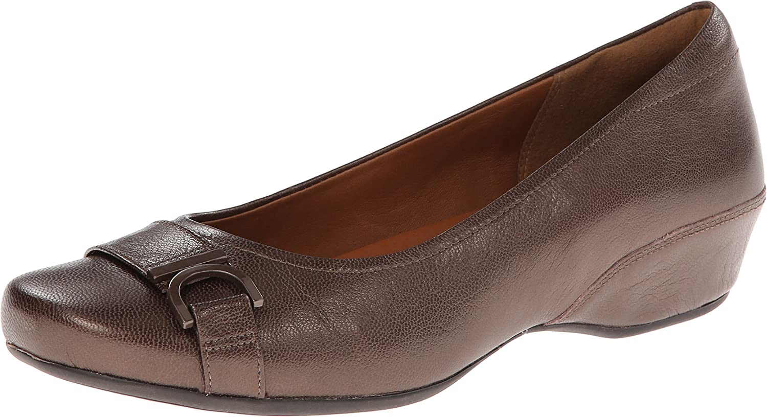 Clarks Very popular! Women's Time sale Concert Band Pump Wedge