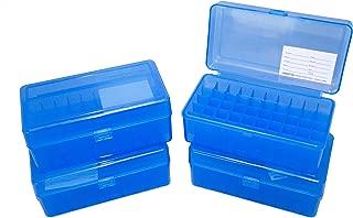 Dillon Precision 4 Pack Ammo Box 50 round 9mm 380 9x18 9x19 Ammunition Storage Case