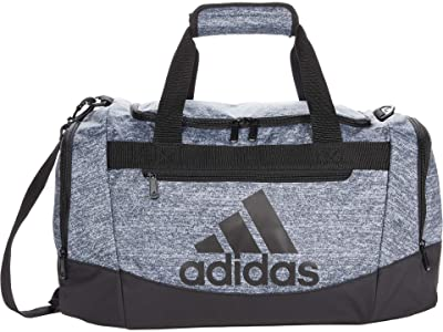 adidas Defender 4 Small Duffel Bag (Grey/Onix Jersey/Black) Handbags