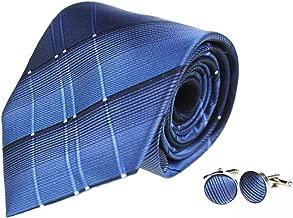 Tiger Mama Mens Business Tie, Cufflinks, Pocket Square Set