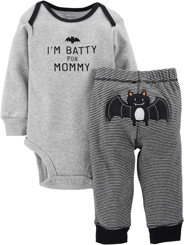 Carter's 2 Piece Halloween Set (Baby) - Black-Newborn